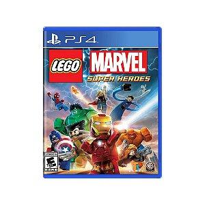 LEGO Marvel Super Heroes - Usado - PS4