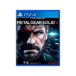Metal Gear Solid V Ground Zeroes - Usado - PS4