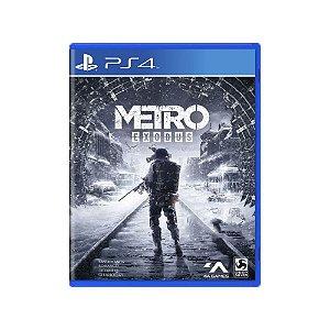 Metro Exodus - Usado - PS4