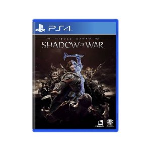 Middle-earth Shadow of War - Usado - PS4