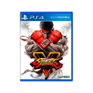 Street Fighter V - Usado - PS4