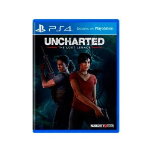 Uncharted The Lost Legacy - Usado - PS4