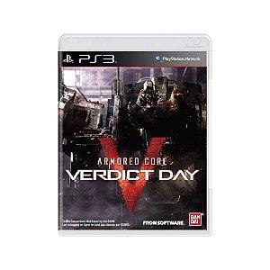 Armored Core Verdict Day - Usado - PS3