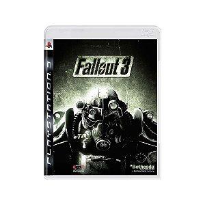 Fallout 3 - Usado - PS3