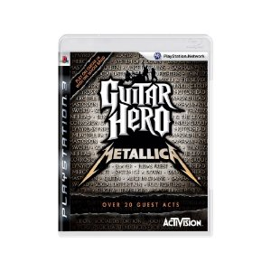 Guitar Hero Metallica - Usado - PS3