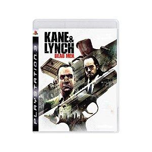 Kane & Lynch Dead Men - Usado - PS3