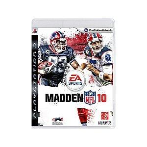 Madden NFL 10 - Usado - PS3