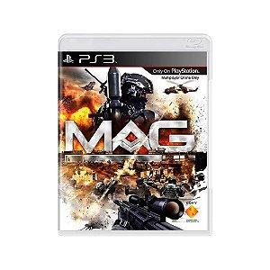MAG - Usado - PS3