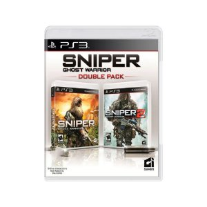 Sniper Ghost Warrior (Double Pack) - Usado - PS3