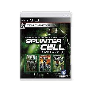 Tom Clancy's Splinter Cell Trilogy - Usado - PS3