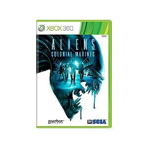 Aliens Colonial Marines - Usado - Xbox 360