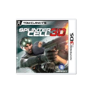 Tom Clancy's Splinter Cell 3D - Usado - 3DS