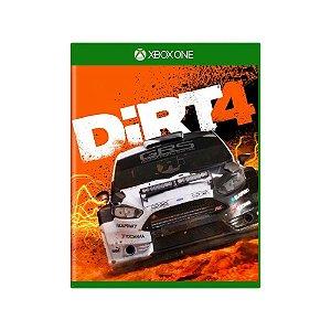 DiRT 4 - Usado - Xbox One