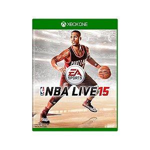NBA Live 15 - Usado - Xbox One