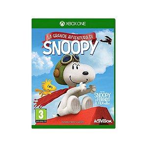 La Grande Avventura Di Snoopy - Usado - Xbox One