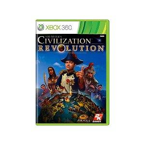 Sid Meier's Civilization Revolution - Usado - Xbox 360