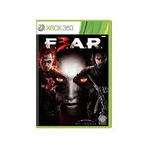 FEAR 3 - Usado - Xbox 360