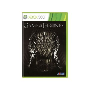 Game Of Thrones - Usado - Xbox 360