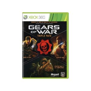 Gears of War: Triple Pack - Usado - Xbox 360