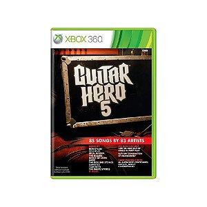 Guitar Hero 5 - Usado - Xbox 360