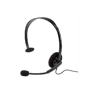 Headset Microsoft Básico com fio - Usado - Xbox 360