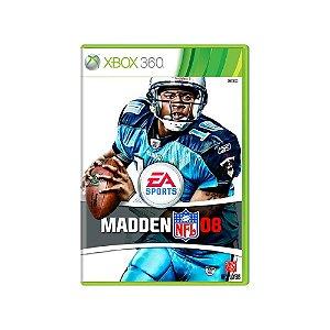 Madden NFL 08 - Usado - Xbox 360