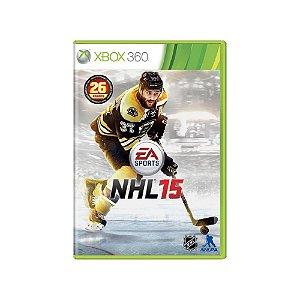 NHL 15 - Usado - Xbox 360