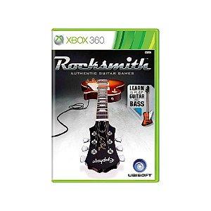 Rocksmith (Sem cabo) - Usado - Xbox 360