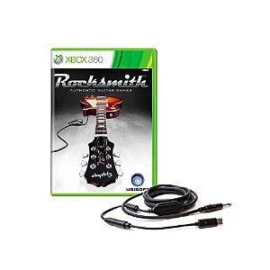 Rocksmith + Cabo - Usado - Xbox 360