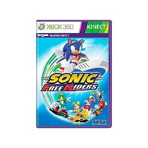 Sonic Free Riders - Usado - Xbox 360