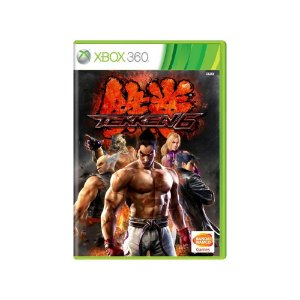Tekken 6 - Usado - Xbox 360