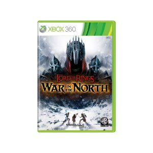 The Lord of the Rings War in the North - Usado - Xbox 360