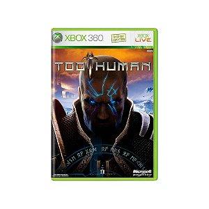 Too Human - Usado - Xbox 360