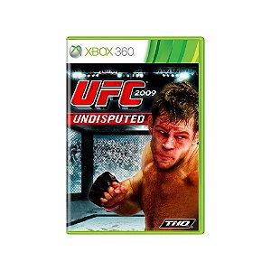 UFC Undisputed 2009 - Usado - Xbox 360