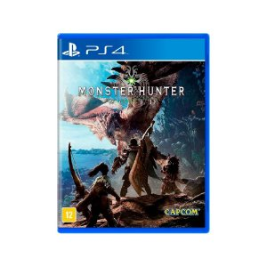 Monster Hunter: World - Usado - PS4