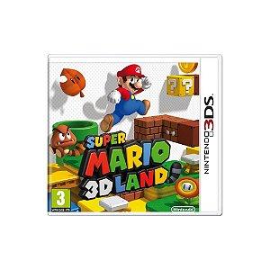 Super Mario 3D Land (Sem Capa) - Usado - 3DS