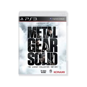 Metal Gear Solid: The Legacy Collection - Usado - PS3