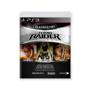 Tomb Raider Trilogy - Usado - PS3