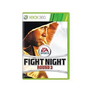 Fight Night Round 3 - Usado - Xbox 360