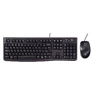 Teclado e Mouse USB MK120 - Logitech