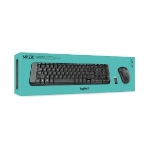 Teclado e Mouse Wireless MK220 - Logitech