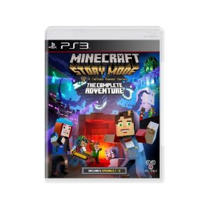 Minecraft Story Mode (The Complete Adventure) - Usado - PS3