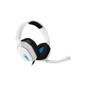 Headset ASTRO Gaming A10 - Branco/Azul