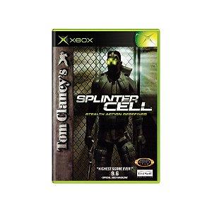 Tom Clancy's Splinter Cell Stealth Action R. - Usado - Xbox
