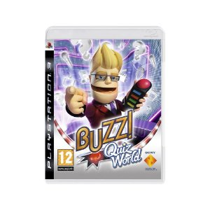 Buzz! Quiz World - Usado - PS3