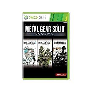 Metal Gear Solid HD Collection - Usado - Xbox 360