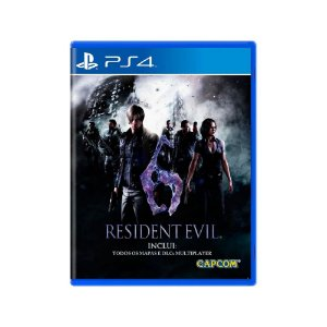 Resident Evil 6 - Usado - PS4