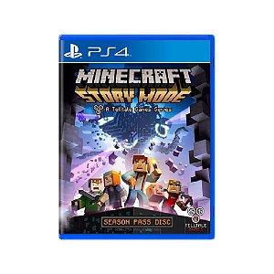 Minecraft Story Mode - Usado - PS4