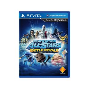 Playstation All Stars Battle Royale (Sem Capa) Usado Ps Vita