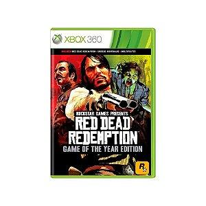 Red Dead Redemption (GOTY) - Usado - Xbox 360